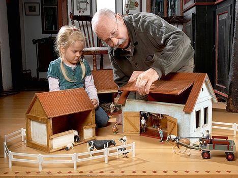 nostalgischer bauernhof im kinderzimmer geschenkideen pinterest kinderzimmer. Black Bedroom Furniture Sets. Home Design Ideas