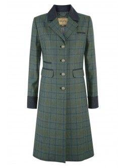 Blackthorn Women's Long Tweed Coat