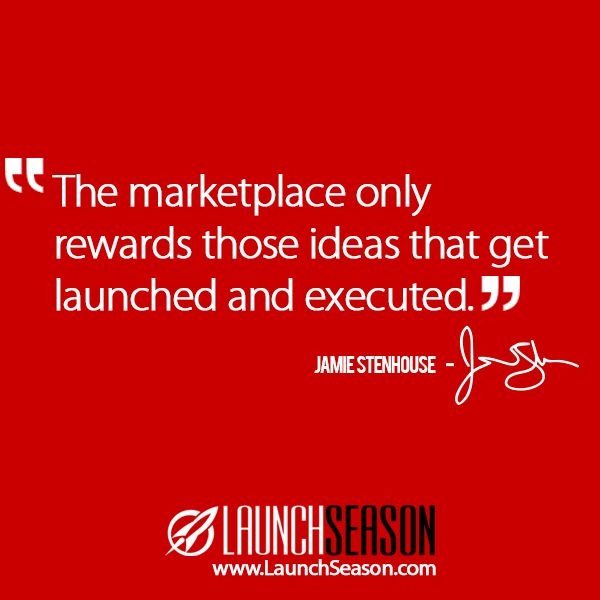 """Taken from my video series """"Launch Season"""". Watch it for free at: www.launchseason.com/training"""