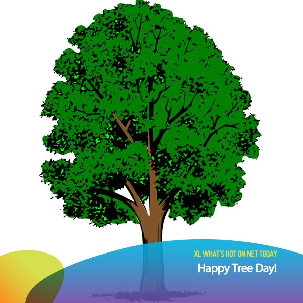 Happy Tree Day! Have you planted a tree today?      image: deviantart.com  as posted on XL Rame