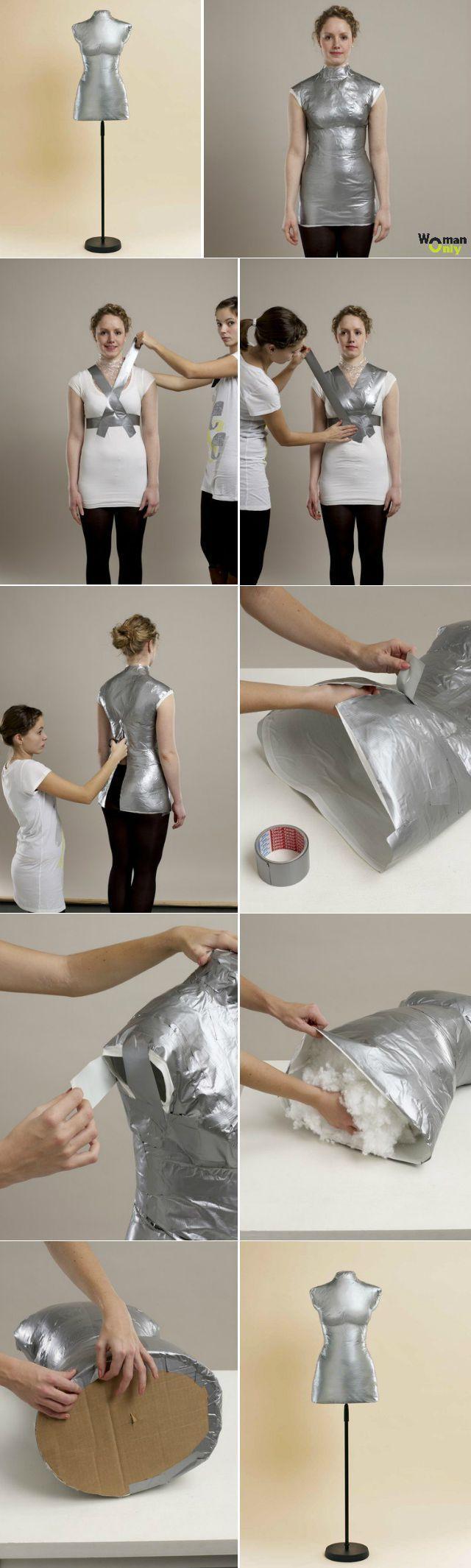 Как сделать портновский манекен своими руками: мастер-класс