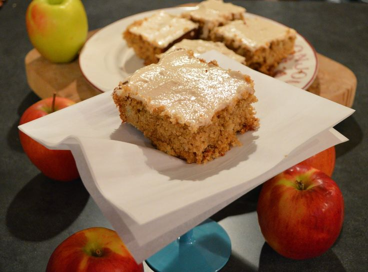 Gluten Free Apple Spice Cake with Vanilla-Honey Cream cheese frosting ...