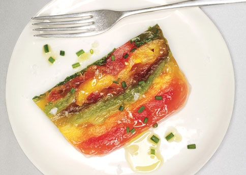 96 best eating jello salad images on pinterest cooking for Tomato terrine