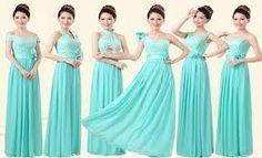 Image result for aqua blue bridesmaid dresses