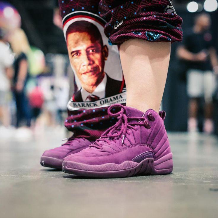 "PSNY x Air Jordan 12 ""Burgundy"""