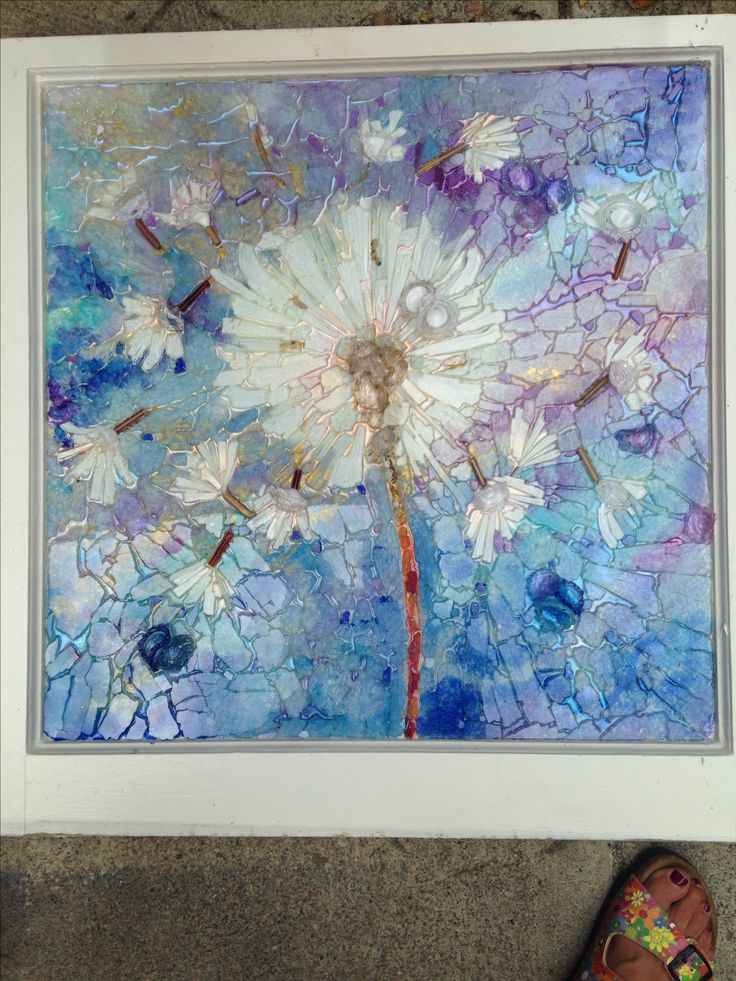 1228 best images about mosaics stained glass on pinterest for Recycled glass art projects