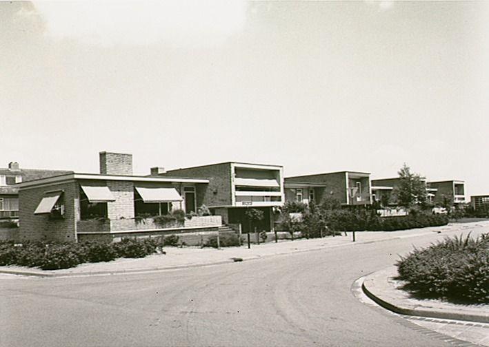 Aalst,  Clivialaan. Jos Pé (fotograaf) 1971