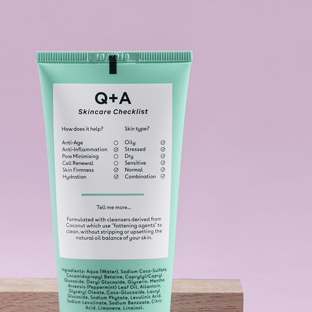 The Qa Skincare Checklist Breaking Down The What S What Of Every Qandaskin Product Would You Daily Cleanser Fragrance Free Products Daily Skin Care Routine