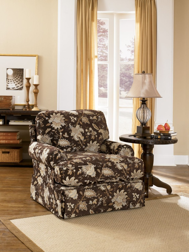 ashley millenium porter 39 s gate umber accent chair for