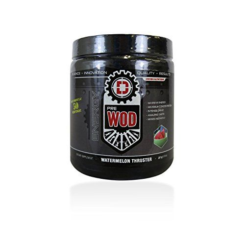 PRE WOD- The Ultimate Cognitive Enhancing Pre-Workout Supplement-50 servings (Watermelon Thruster) * Click on the image for additional details.