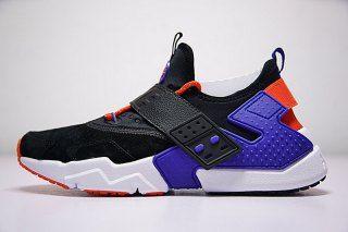 86852f103b778 Nike Air Huarache Drift Prm Black Bule AH7335-002 Men s Footwear Running  Shoes