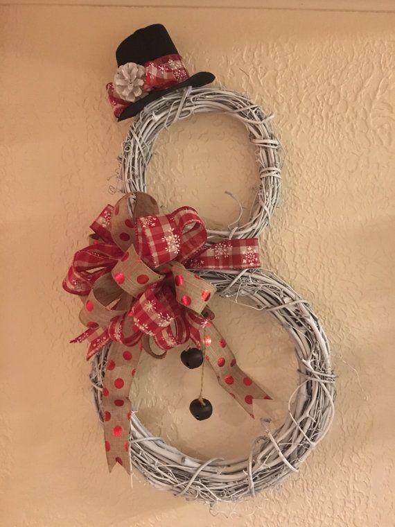 les 25 meilleures id es de la cat gorie porte bonhomme de neige sur pinterest couronnes d. Black Bedroom Furniture Sets. Home Design Ideas