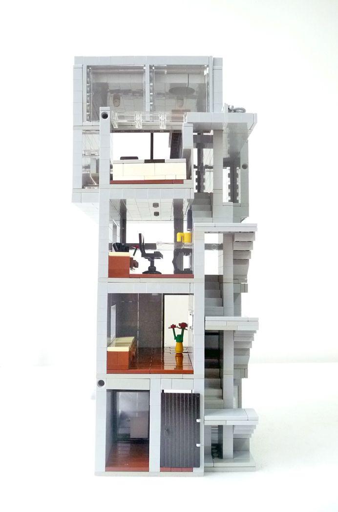 2013 第2彈 tadao ando 安藤忠雄 4x4 house 完 - 樂高作品分享 MOCs - 玩樂天堂 pockyland