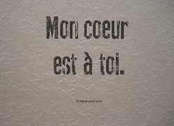 love-your-french:    Eng. My heart is yours.