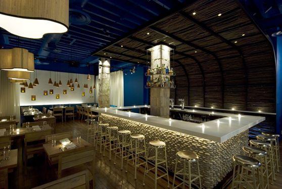 Modern greek restaurant the opa