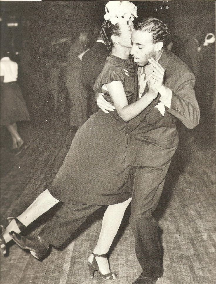 Dancing at the Savoy Ballroom in Harlem.
