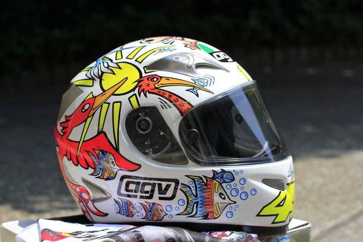 AGV Ti Tech Helmet - Valentino Rossi Zoo