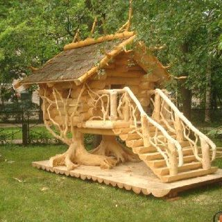 Ultimate log cabin play house @                              …