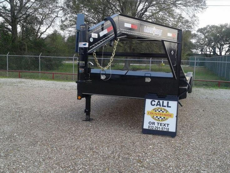 2017 Load Max 102 X 40 EQUIPMENT GOOSENECK Flatbed Trailer | Countryside Trailer Sales -Trailers For Sale Trailers for Rent Trailer Repair service Storage Facility Trailer Dealer Spring Texas Dealer Flatbed, Gooseneck, Utility, Dump, Cargo, and Specialty
