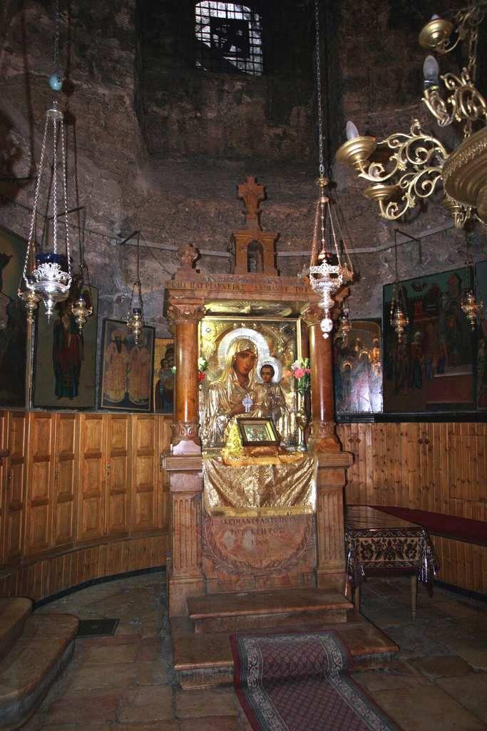 Most Holy Lady of Jerusalem aka Panagia Ierosolymitissa is a very popular icon…