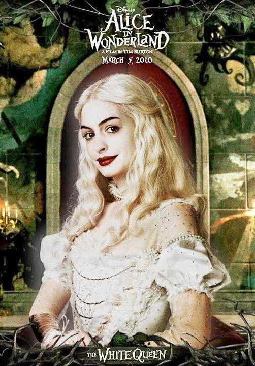TB107. The White Queen (II) / Alice in Wonderland / Movie Poster (2010) / #Movieposter / #Timburton