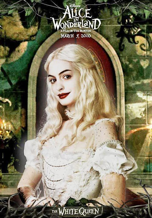 TB107. The White Queen (II) / Alice in Wonderland / Movie Poster (2010) / #Movieposter / #Timburton
