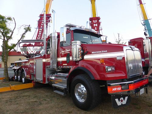 17 best images about fifty years of western star trucks on for Jamie davis motor truck