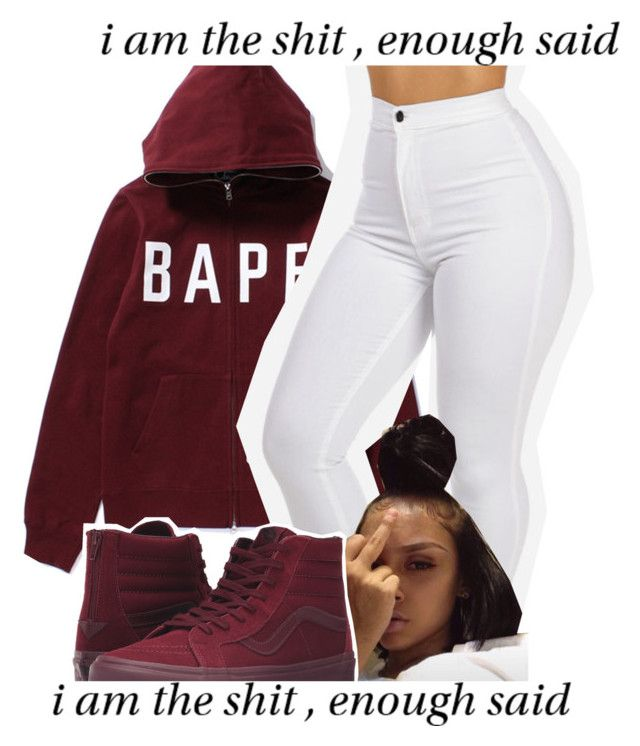 """😈"" by leshabest ❤ liked on Polyvore featuring Vans"