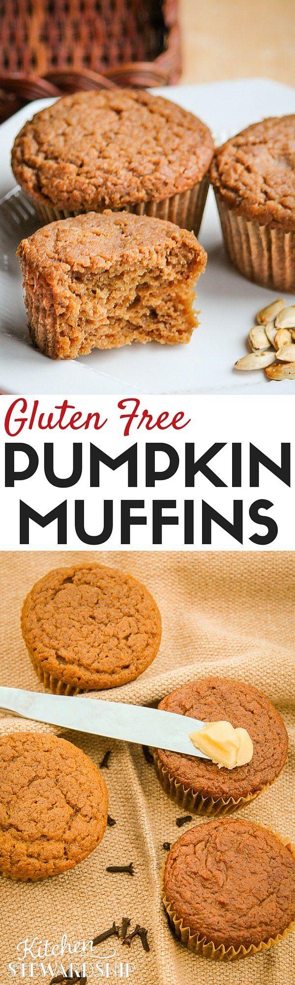 Easy Gluten-free One-Bowl Pumpkin Muffins (also egg-free, dairy-free, nut-free…
