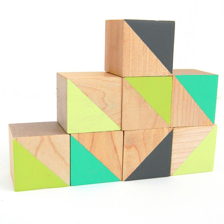 Reciclar juguetes bloques de maderas con un toque de - Colores para reciclar ...
