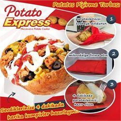 Patates Pişirme Kumpir Torbası Potato Express
