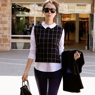 Cheap blouse vest, Buy Quality blouse lace directly from China blouse shoulder Suppliers: New 2015 Fashion Sweater Women Hollow Out Knitted Pullovers Winter Warm Long Sleeve Sweaters Loose Casual Pullover For W