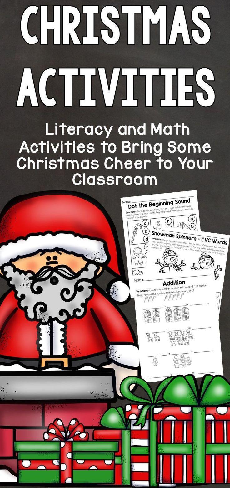 Christmas Activities Christmas Activities Winter Activities For Kids Activities