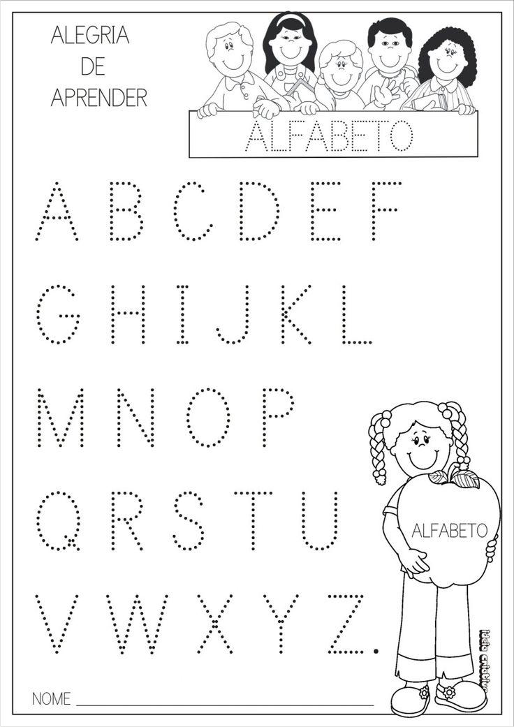 25 Melhores Ideias De Atividades Com O Alfabeto No