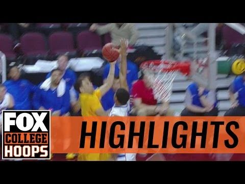 Wyoming Cowboys defeat DePaul Blue Demons in Las Vegas Classic | 2016 COLLEGE BASKETBALL HIGHLIGHTS