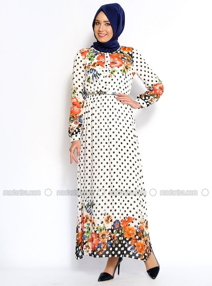 LIKE THE POLKA DOTS AND FLOWERS... SO THE chiffon fabric IS TOTALLY AWESOME.
