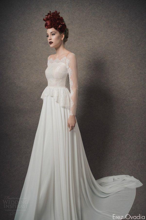 Erez Ovadia 2015 Wedding Dresses — Blossom Bridal Collection | Wedding Inspirasi