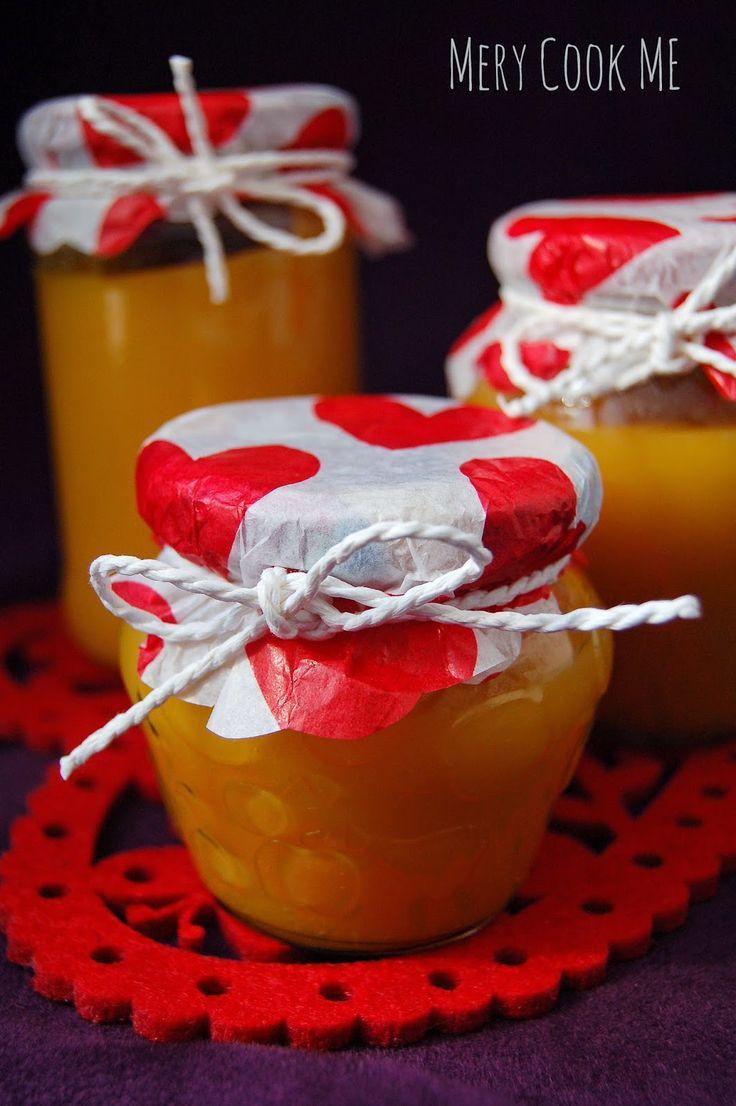 Mery cook me :): Mus dyniowo- jabłkowy BEZ CUKRU