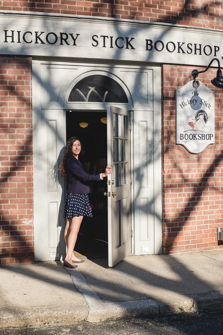 Hickory Stick Bookshop Washington Depot, CT http://livelovelyphotography.com/connecticut-charm-washington-depot/