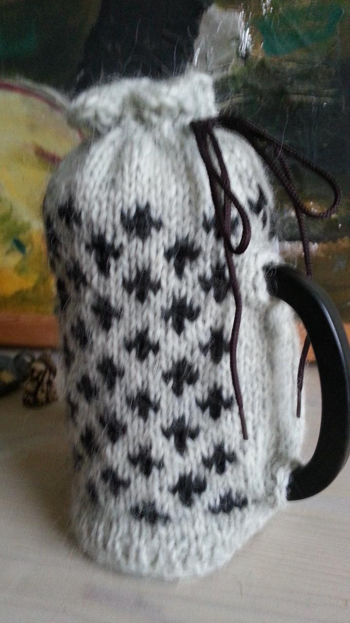 Færøsk sweater til Bodum-kande
