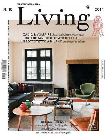 Living. Corriere della Sera Interiors Magazine #10