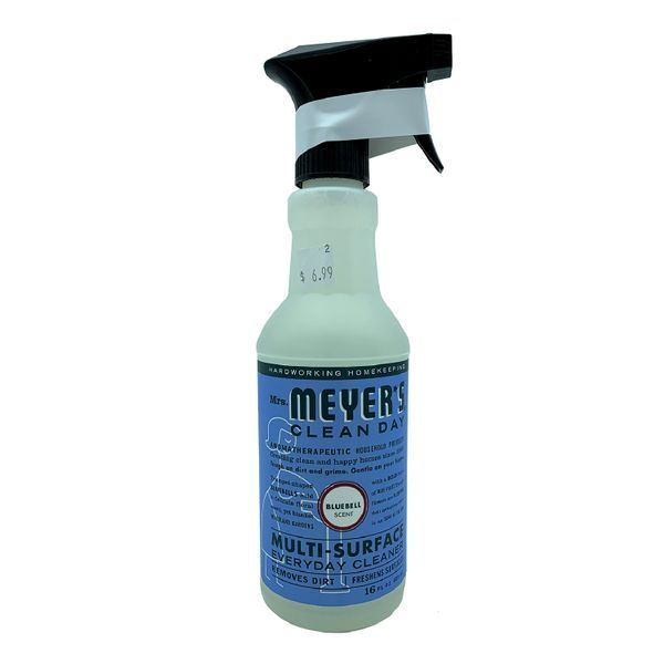 Mrs Meyers Bluebell Multi Surface Everyday Cleaner Surface