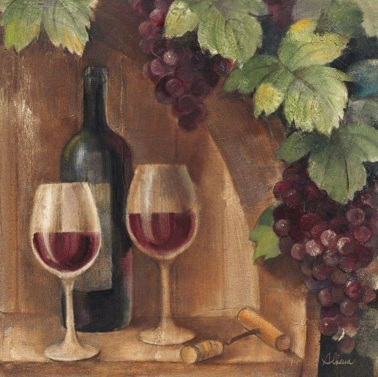 Винтажные картинки для бутылочек и коробов для вина
