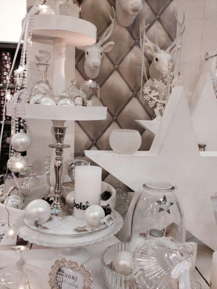 Witte kerst bij #Intratuin IJsselstein #pintratuin #whitechristmas