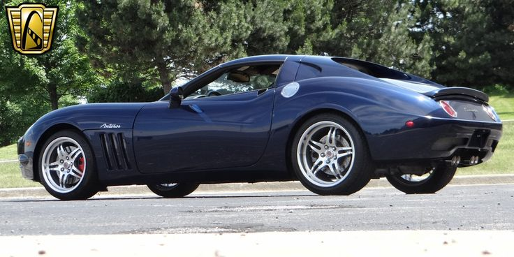 For sale in our Chicago, Illinois showroom is a Deep Blue Pearl Metallic 2005 Chevrolet Corvette Anteros 6.0L LS2 V8 6-Speed Manual . Click for more details.