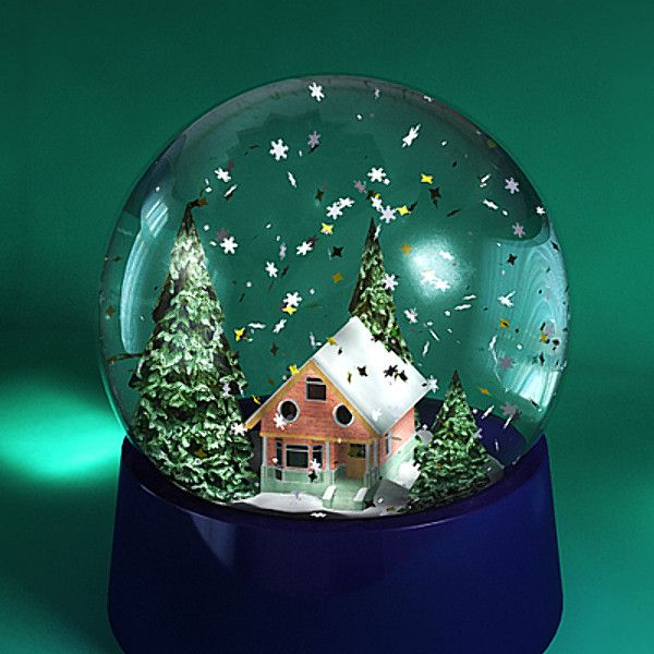 101 Best Images About Snow Globes On Pinterest