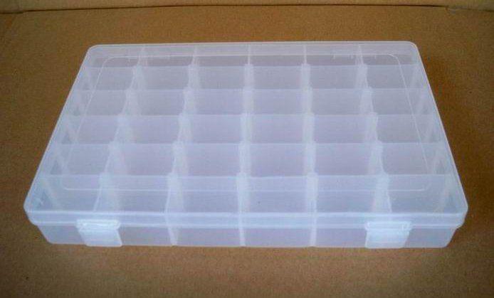 Бесплатная доставка 36 сетки ящик для хранения для hama бисером perler бусы железные шарики шарики ювелирных изделий оптом и в розницу