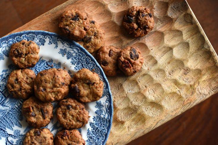 Cookies délicieux chocolat-noix de pécan {vegan}