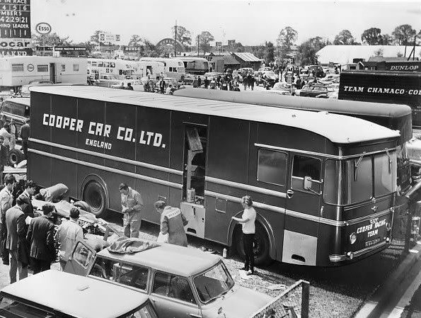 Cooper Car Company racing transporter