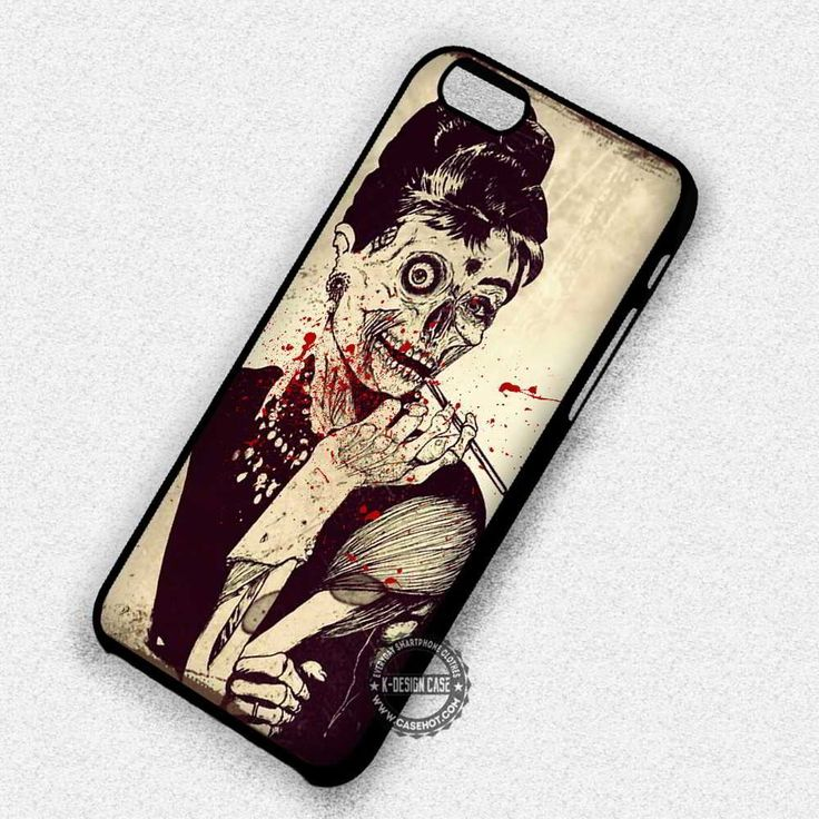 Audrey Zombie with Blood Classic - iPhone 7 6 5 SE Cases & Covers